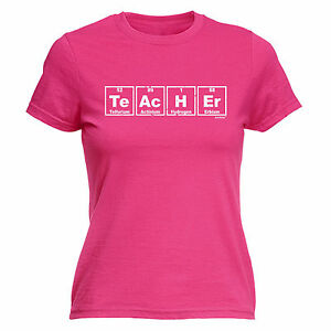 Teacher periodic table element womens t shirt school college tee image is loading teacher periodic table element womens t shirt school urtaz Image collections