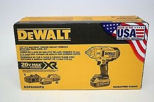 Dewalt-Dcf899Hp2-1-2-034-High-Torque-Hr-Impact-Wrench-Kit-Brand-New