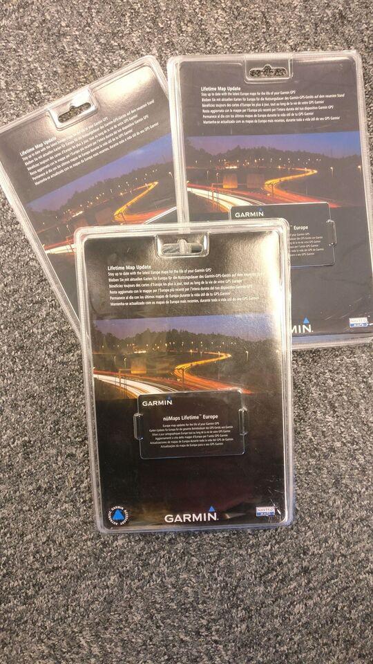 Software/kort, Garmin nüMaps Lifetime Europe