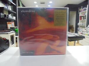 Slowdive LP Europa Just For A Day 2020 Limitierte Flaming Vinyl