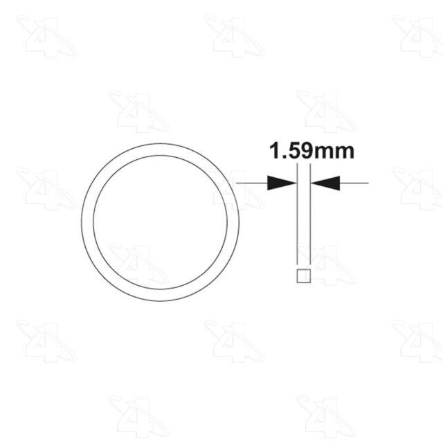 A//C Compressor Seal-Compressor O Ring 4 Seasons 24621