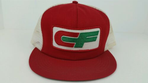 Vintage CF Consolidated Freightways One Size Adult Snap Back Trucker Hat Hipster