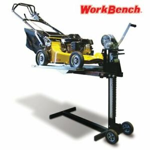 Details About Lawn Mower Lift Workbench Attachment Convert Your Into A Worktable