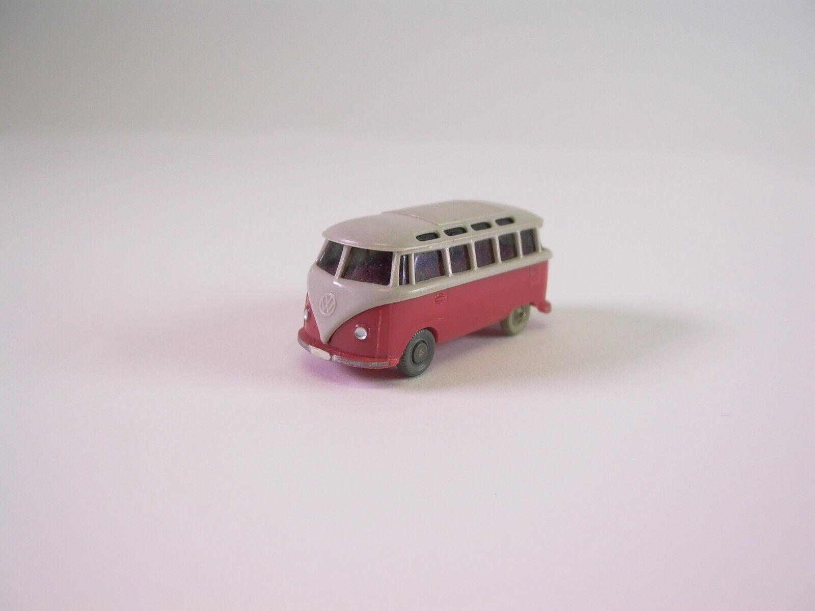 Alter WIKING  H0 VW BUS - BULLI - Fensterbus mit AHK - (auto11)