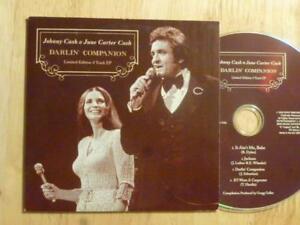 Promo-4-tr-EP-Johnny-Cash-amp-June-Carter-Cash-DARLIN-039-COMPANION-Bob-Dylan