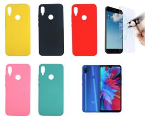 Cover-Custodia-Rigida-in-Silicone-Ultra-Morbida-Per-Xiaomi-Redmi-Note-7-4G-6-3-034