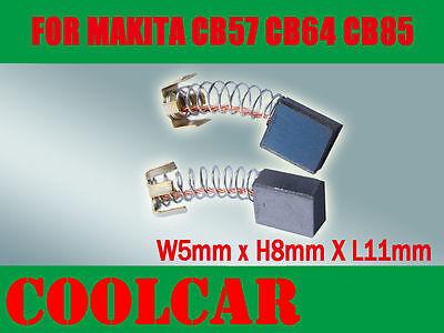 Carbon brushes Coals for Makita Orbital Sander BO5010//Bo 5010//BO-5010 CB64