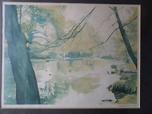 MICHAEL-REVERS-SIGNED-PICTURE-HIDDEN-BUTTERMERE-LAKE-LIMITED-EDITION-FRAMED-1979