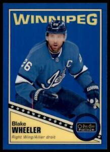 2019-20-OPC-Platinum-Retro-Rainbow-Blue-R-14-Blake-Wheeler-149-Winnipeg-Jets