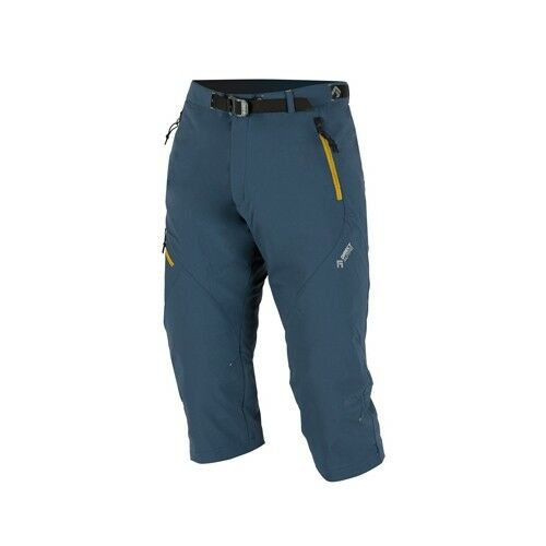 Direct Alpine Cruise 3 4 Pant, 3 4 - longtemps Outdoorhose pour homme, grisbleu-or