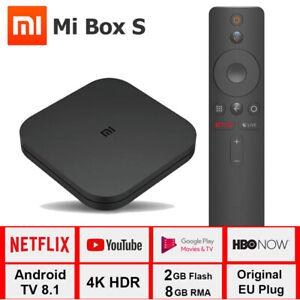 Xiaomi Mi TV Box S Global Version Ship from France 2GB 8GB WiFi 4K Ultra HD FR