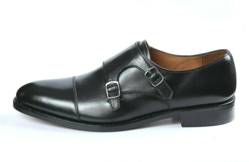 Details about  /CMAAPPAREL MEN/'S FULL LEATHER DOUBLE MONK STRAP IN GOODYEAR WELTED CONSTRUCTION