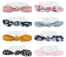 Baby Kinder Stirnband Mädchen elastisch Schleife Haarband Haarschmuck 2 Größen