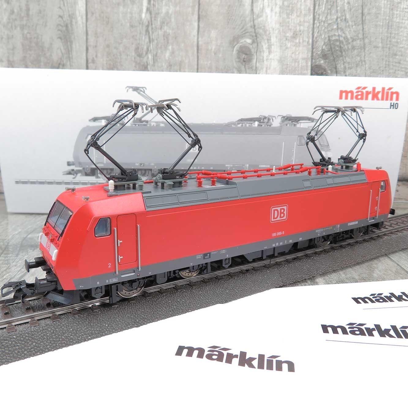 MÄRKLIN 36856 - HO - DB - E-Lok 185 099-9 - DIGITAL - OVP -  R20818