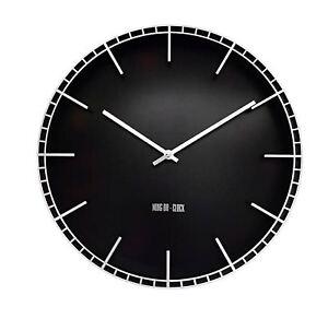 XL-Uhr-Wanduhr-mit-12-Stundenanzeige-Analog-Batteriebetrieben-Geraeuschlos-38-cm