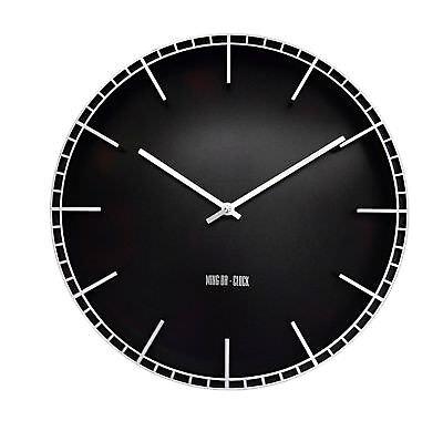 Agressief Xl Uhr Wanduhr Mit 12 Stundenanzeige Analog Batteriebetrieben Geräuschlos 38 Cm