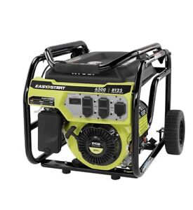 RYOBI RY906500S 6,500-Watt 420 Cc Gasoline Powered Portable Generator