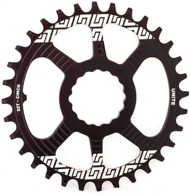 Unite Race Face Cinch DM Grip Ring - Narrow   Wide Single Chainring Direct Mount
