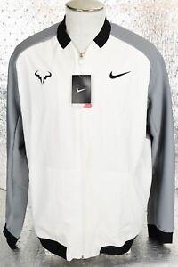 xl talla chaqueta 100 tejida Premier tenis 728986 Nadal Mens Rafael 150 de Nike blanca 47w1qn