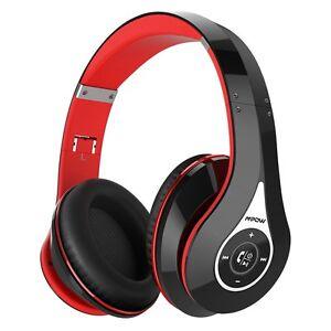 Mpow Bluetooth Headphones Hi-Fi Stereo Wireless Headset Earphone Foldable 2 Mode