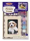 Melissa & Doug Decorate Your Own Wooden Picture Frame 8855