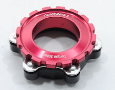 Adapter/Converter Shimano Centerlock to 6 Bolt Disc Brake Rotor, Thru-Axle, RED