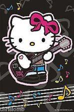 CIALDA per torta HELLO KITTY rock ostia compleanno formato A4 cod2234