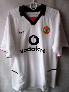 5db32a782c9 Image is loading RARE-2002-03-Manchester-United-Away-Shirt-Jersey-