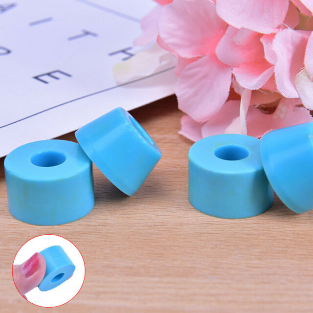 4pcs Skateboard Bushings PU Longboard Skateboard Shockproof Accessory Bushing BA