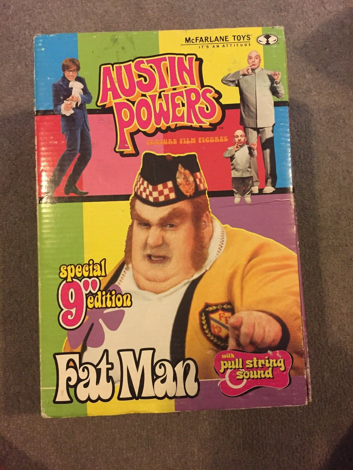 Austin Powers Fat Man Special Edition 9 Figure In Box