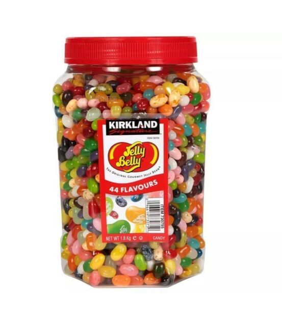 Kirkland Jelly Belly Jelly Beans 1.8kg Jar 44 Gourmet Flavours