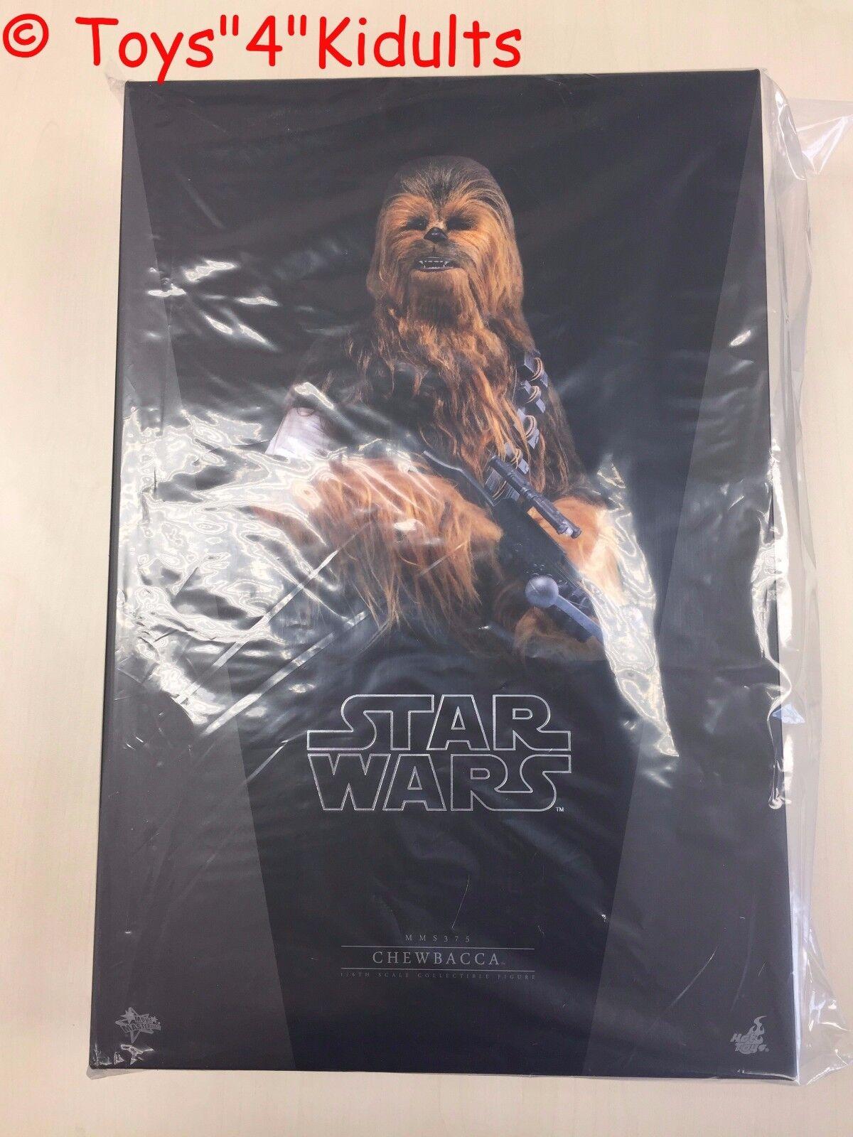 Hot Toys MMS 375 Star Wars Force despierta primera orden Chewbacca NUEVO