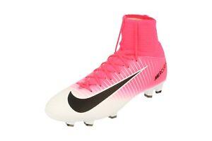 buy popular 5d596 0f46a Dettagli su Nike Junior Al Mercurio Superfly V Fg Scarpe da Calcio 831943  Tacchetti 601
