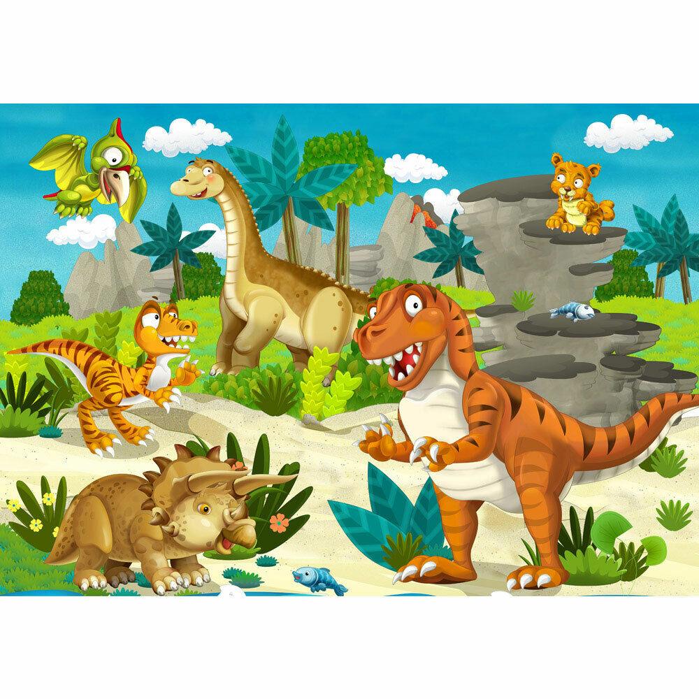 Pépinière de Fond D'Écran Photo Dino Dinosaure Urzeit Trex Liwwing Numéro 119