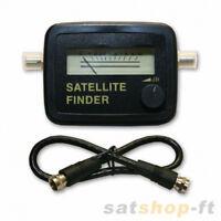 Sat Finder Satfinder Für Digital Analog Sat Schüssel Hdtv Hd 3d + Anschlusskabel