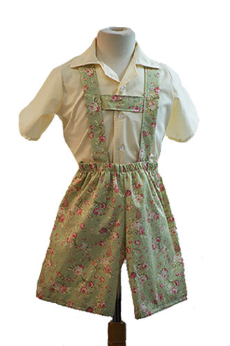 Sound of Music-Family-Curtain Clothes VON TRAPP CURTAIN LEDERHOSEN /& SHIRT SET