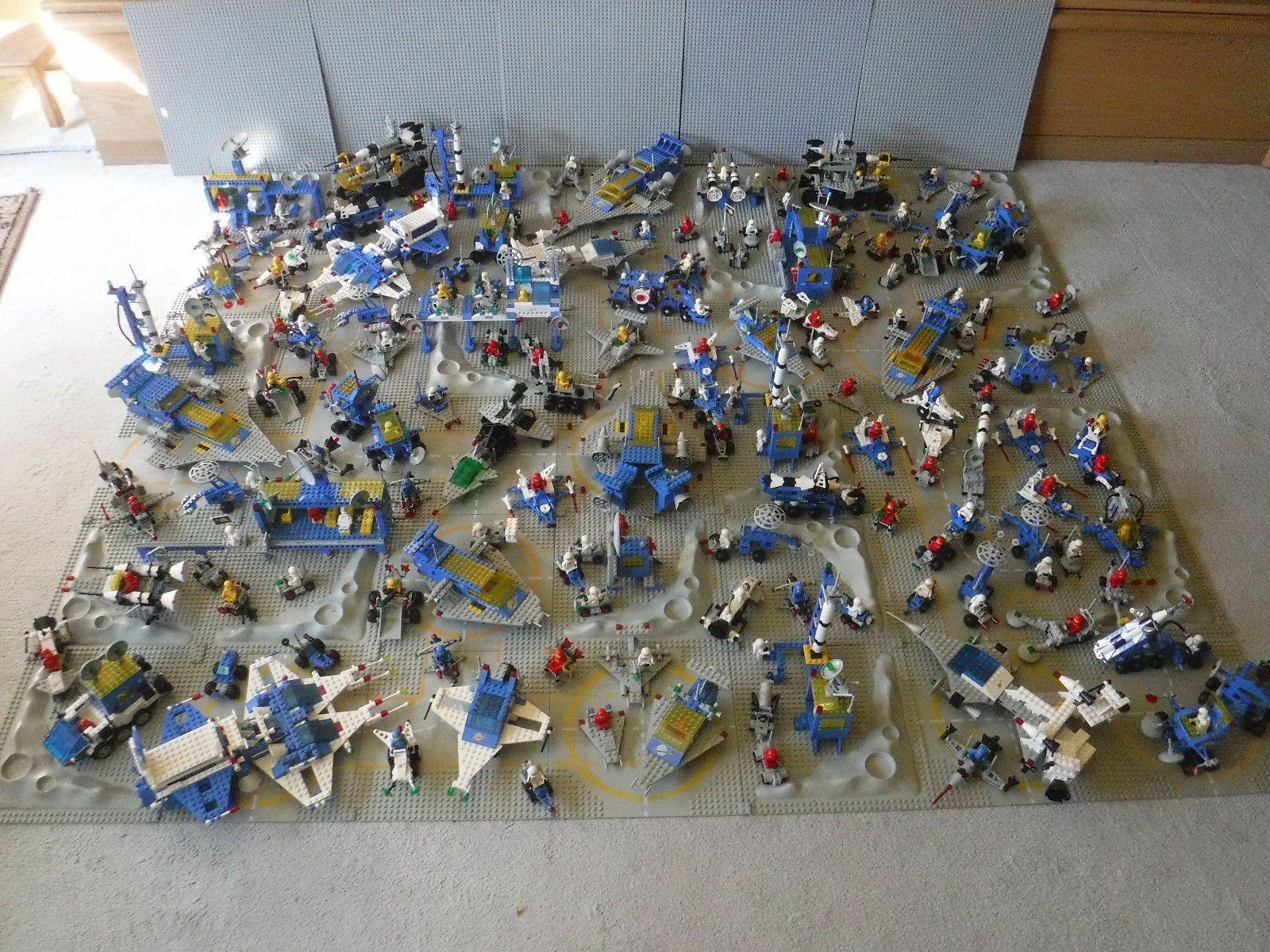 Lego Space Space Space Classic Weltraum Raumfahrt Sammlung 6970 920 6927    -bitte lesen-    d84415
