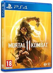 Mortal Kombat 11 PS4 (Sony PlayStation 4, 2019) Brand New - Region Free