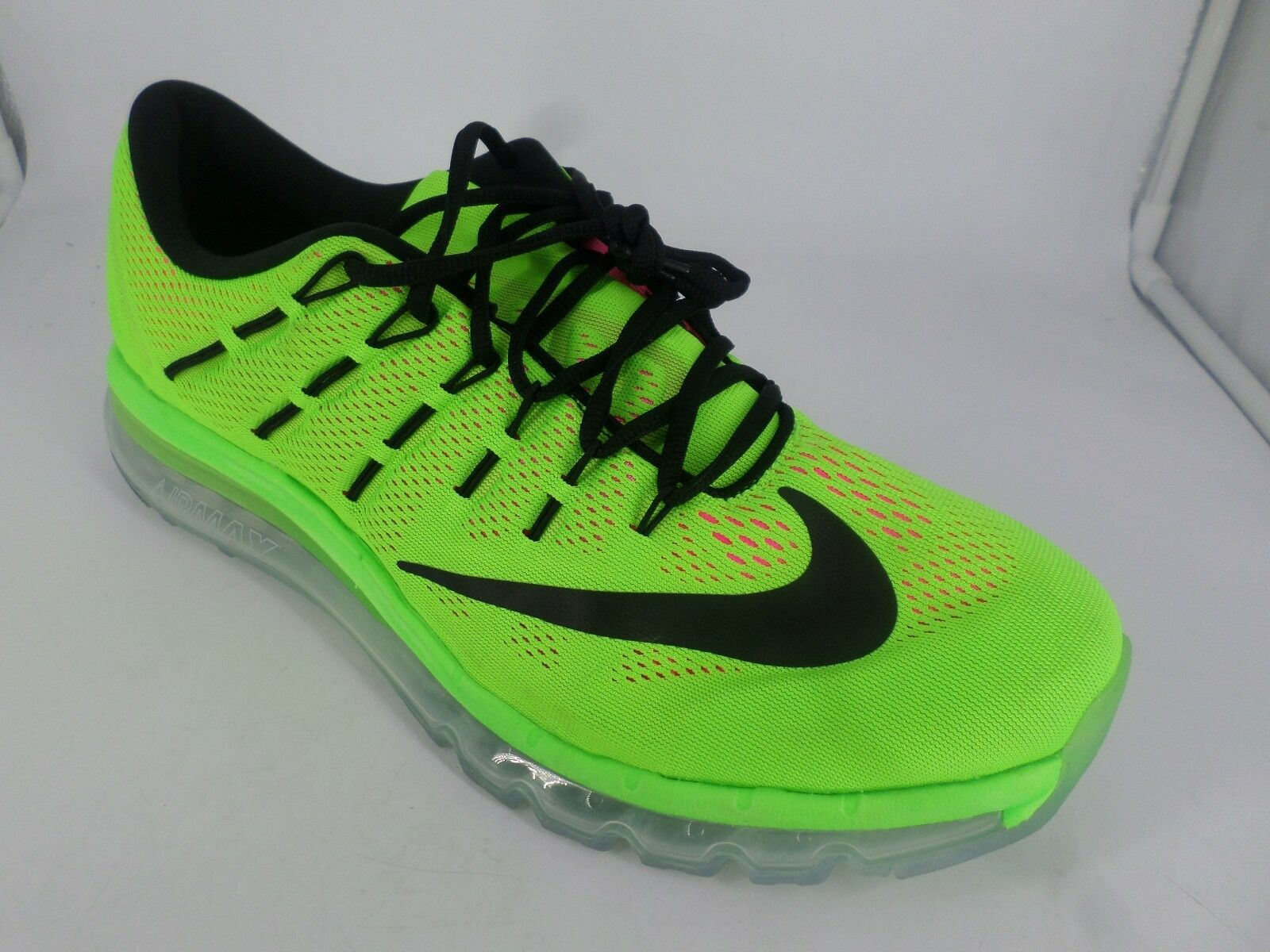 NIKE AIR MAX 2016 ELECTRIC GREEN PINK LN087 HH 06