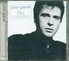 Peter Gabriel - So Remastered Con Sticer Cd Ottimo