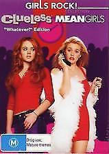 1 of 1 - Girls Rock Collection - CLUELESS MEAN GIRLS (DVD, 2006, 2-Disc Set) R4 PAL