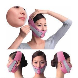 Anti-Wrinkle-Half-Face-Lift-V-Face-Line-Slim-Up-Slimming-Cheek-Mask-Strap-AU