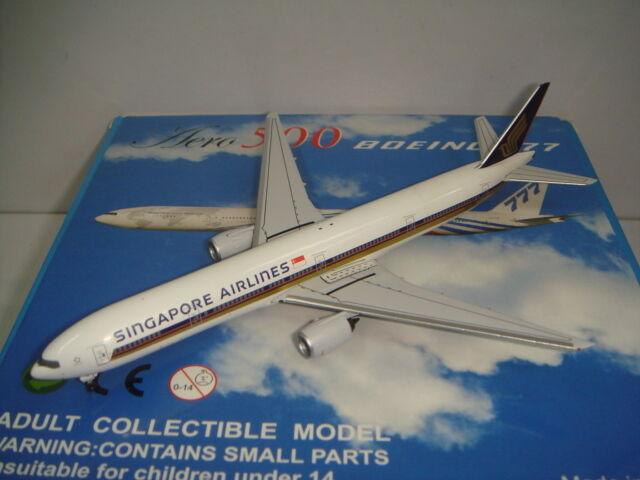 AERO 500 Singapore Airlines SQ B777-300  1990 S couleur  1 500