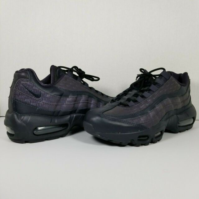Nike Air Max 95 LX Oil Grey Reflective Women's Running Shoes AA1103 004 Size 8