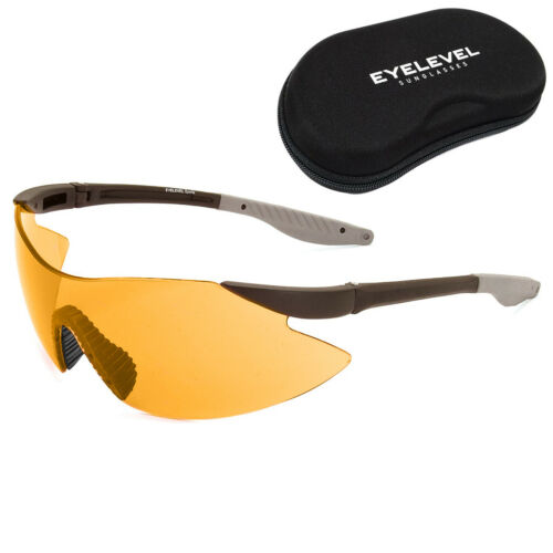 Eyelevel Adulti Tiro Sicurezza Occhiali UV400 Uva Uvb Protezione Anti Glare Lens