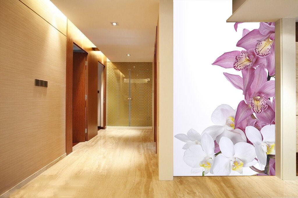 3D Lila Lilie Blaumen 82 Tapete Wandgemälde Tapete Tapeten Bild Familie DE Summer