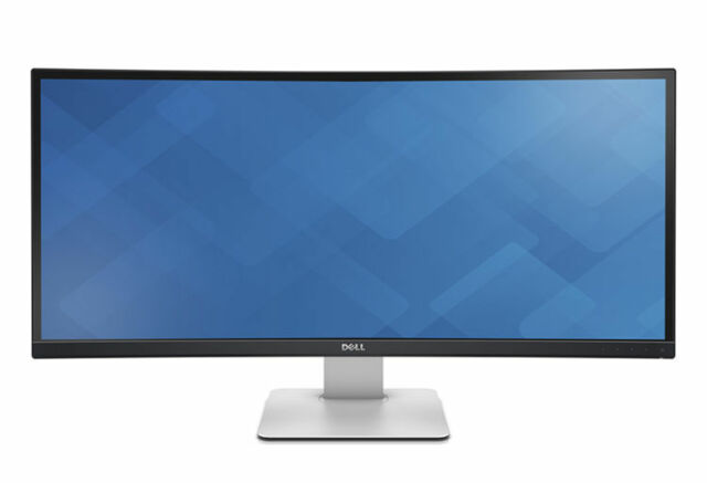Dell UltraSharp U3415W 34 inch Widescreen IPS LCD Monitor with Built-In Speakers