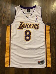Vintage Nike KOBE BRYANT #8 Los Angeles LA Lakers Jersey Medium 40 ...