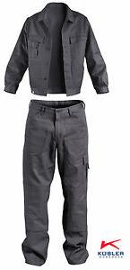 Arbeitsbekleidung-Set-Kombiset-Bundhose-Bundjacke-QUALITY-DRESS-Marke-Kuebler