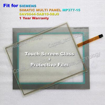 6AV6 644-5AB10-0BJ0 Touch Screen Glass for SIEMENS MP377-15 6AV6644-5AB10-0BJ0